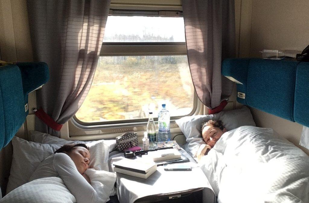 Wir2 unterwegs in der Transsibirischen Eisenbahn…