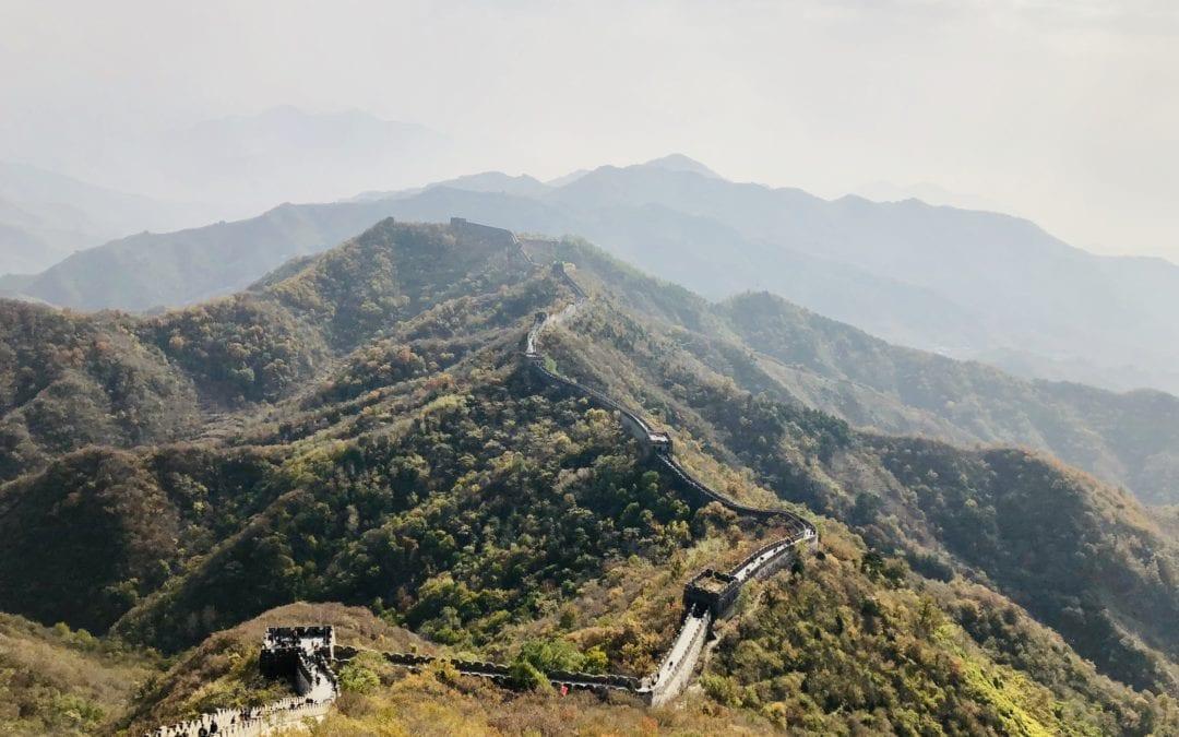 """Die Chinesen, ihre Hauptstadt und die """"Große Mauer"""""""